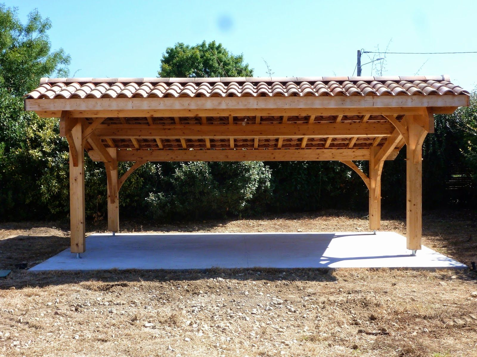 Carport Double Unopiu Best Of Carport Bois Toit Double Pente Carport Bois Toit Bois