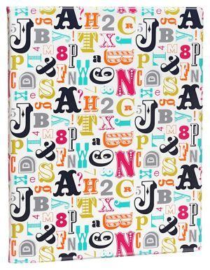 Jonathan Adler Multi Alphabet Presentation Book 8 X 11