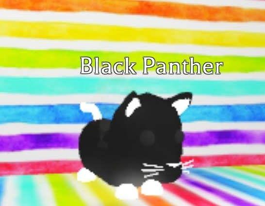 Neon Black Panther In 2020 Pet Adoption Adoption My Roblox