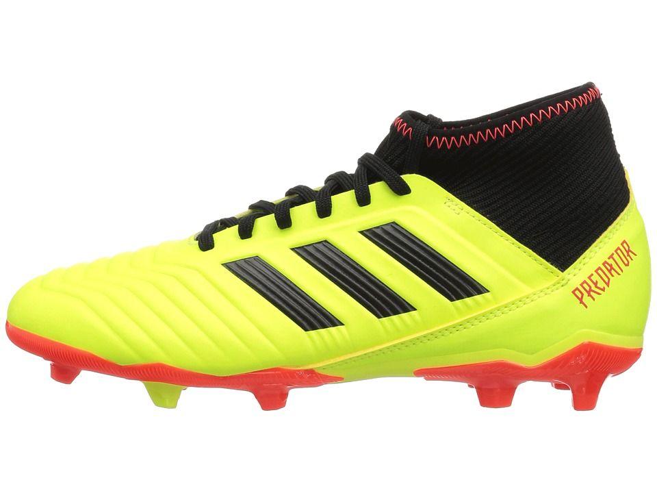 917f032b529a adidas Kids Predator 18.3 FG Soccer (Little Kid Big Kid) Kids Shoes  Yellow Black Red