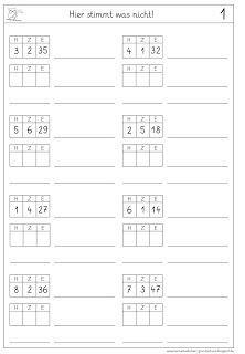 lernst bchen wechseln in der stellentafel 5 ausdrucken pinterest stellentafel mathe. Black Bedroom Furniture Sets. Home Design Ideas