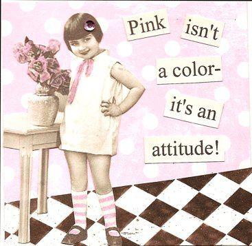 Gotta have that attitude!