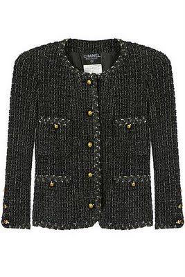 cef65eaf Chanel tweed jacket - my dream. Until then, I'll wear a lookalike ...
