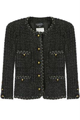 453e5697728c Chanel tweed jacket - my dream. Until then, I'll wear a lookalike ...