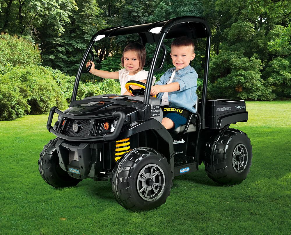 Peg Perego Ride On Toys >> Peg Perego Ride On Toys John Deere Gator Xuv Midnight Black For
