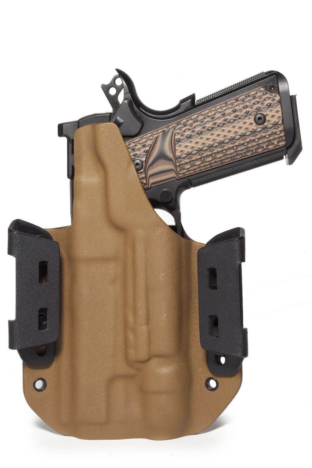 Custom kydex holster for 1911 with light  | Practical