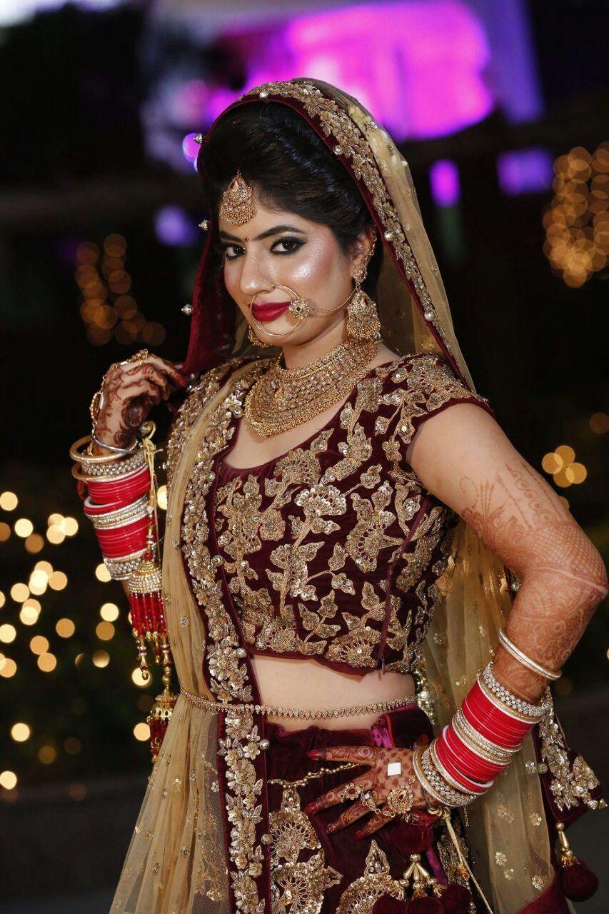 done by meribindiya bridal makeup hd book for now 2017-2018