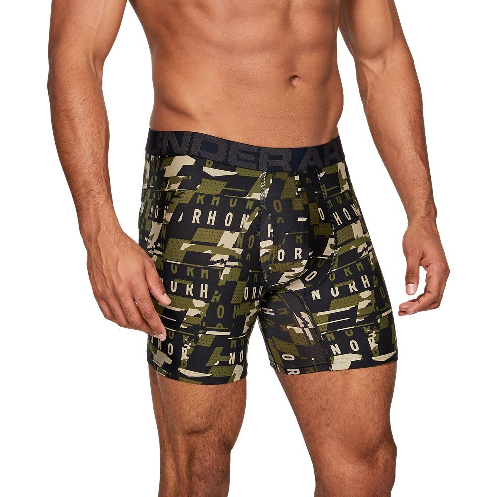 Under Armour Mens Tech 6 Boxerjock Boxer Briefs