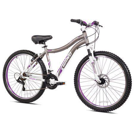 Genesis 26 Inch Women S Whirlwind Mountain Bike Gray Multicolor