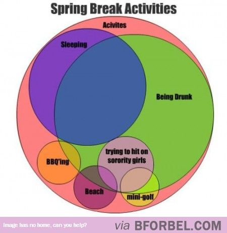 Spring Break Is A SUPER Busy Time…