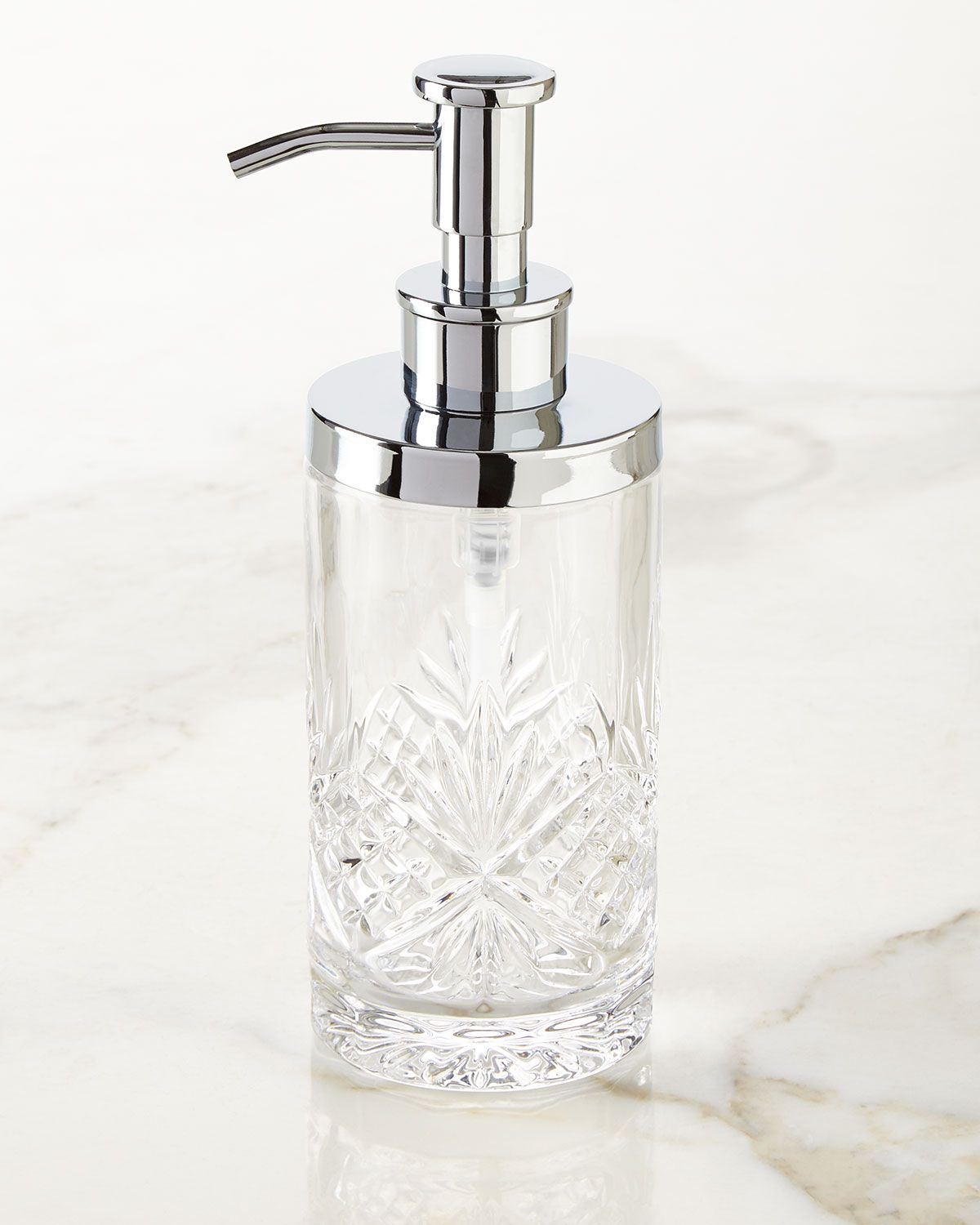 Catalina Pump Dispenser White  Couture  *bathroom Accessories Inspiration Clear Bathroom Accessories Decorating Inspiration