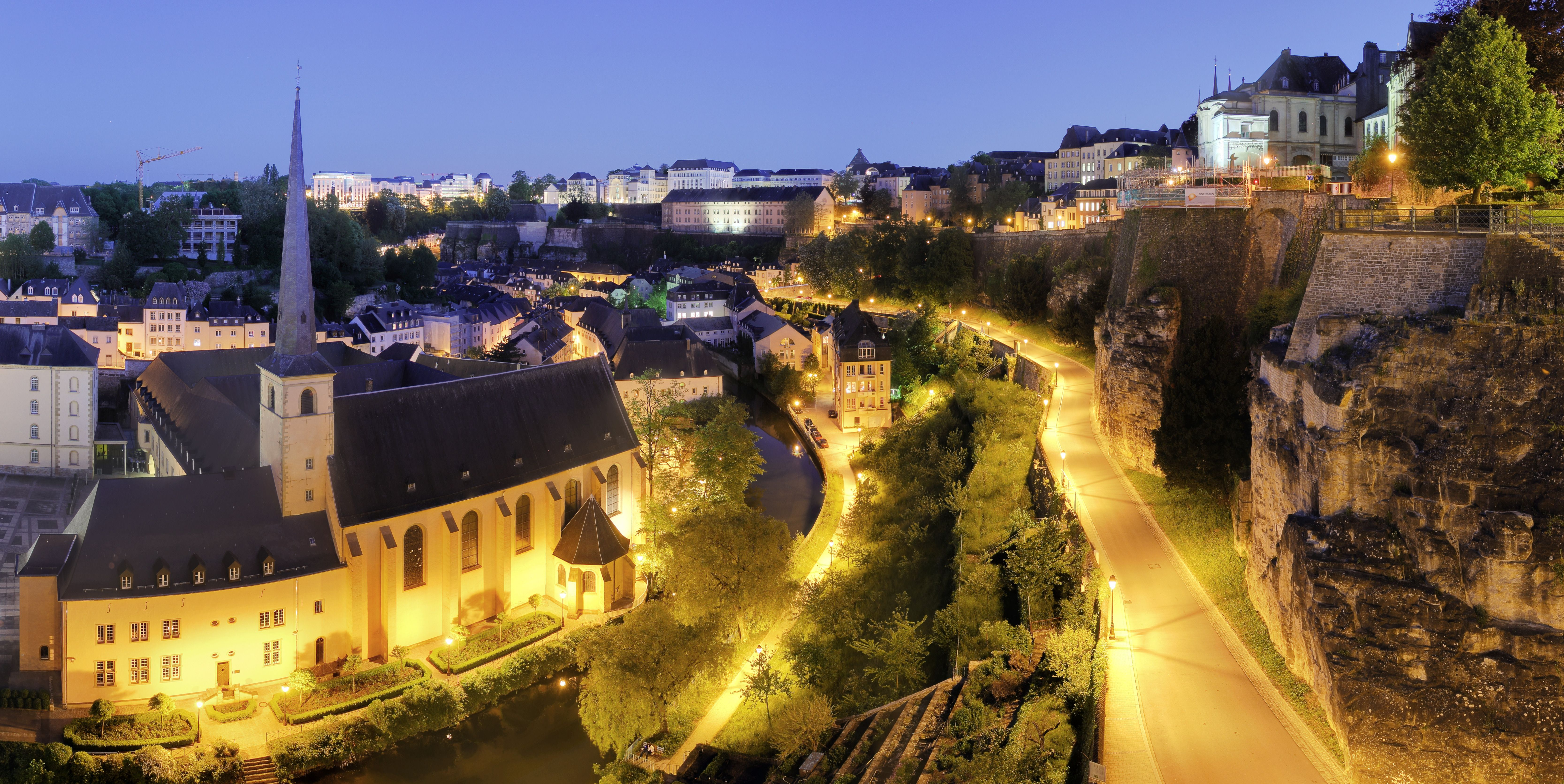 The capital of Luxembourg is Luxembourg City. The picture