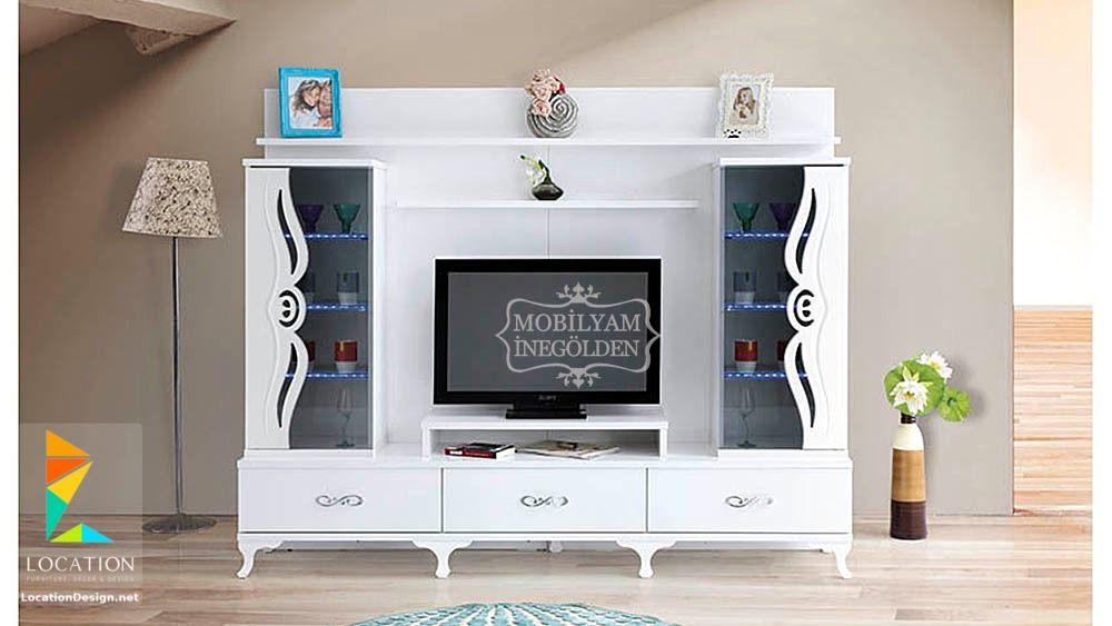 مكتبة التليفزيون أصبحت من قطع الأثاث الأساسية والخاصة بغرفة الجلوس ومنها ما يصلح لغرفة النوم الرئيسية ونستعرض من خلال ال Tv Unit Design Tv Wall Decor Rak Tv