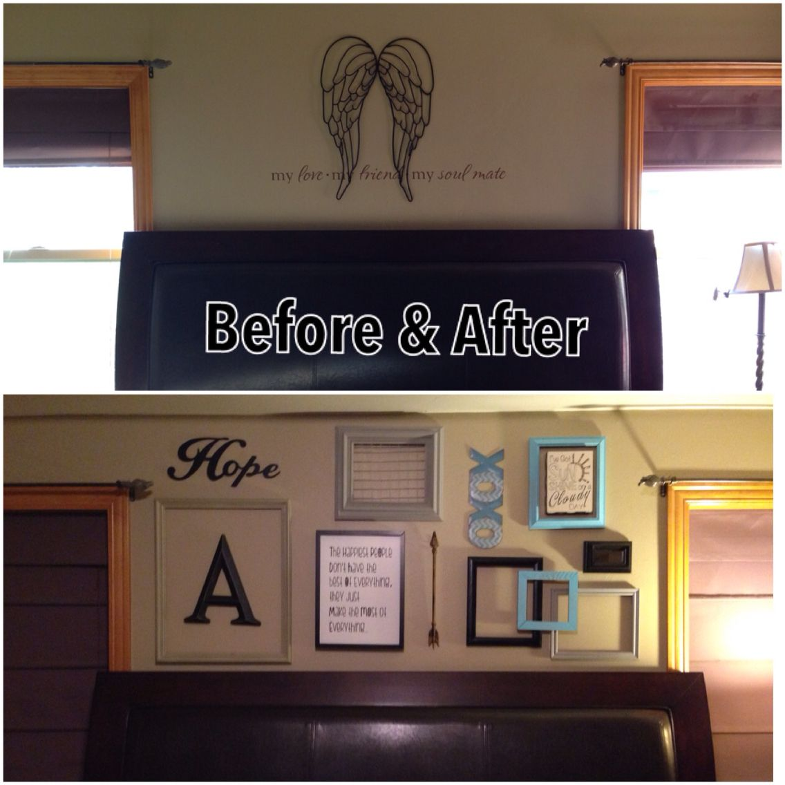 Shabby chic, buy the $ frames, spray them your colors and get the rest of trinkets at a second hand store!  From drab to fab! DIY!