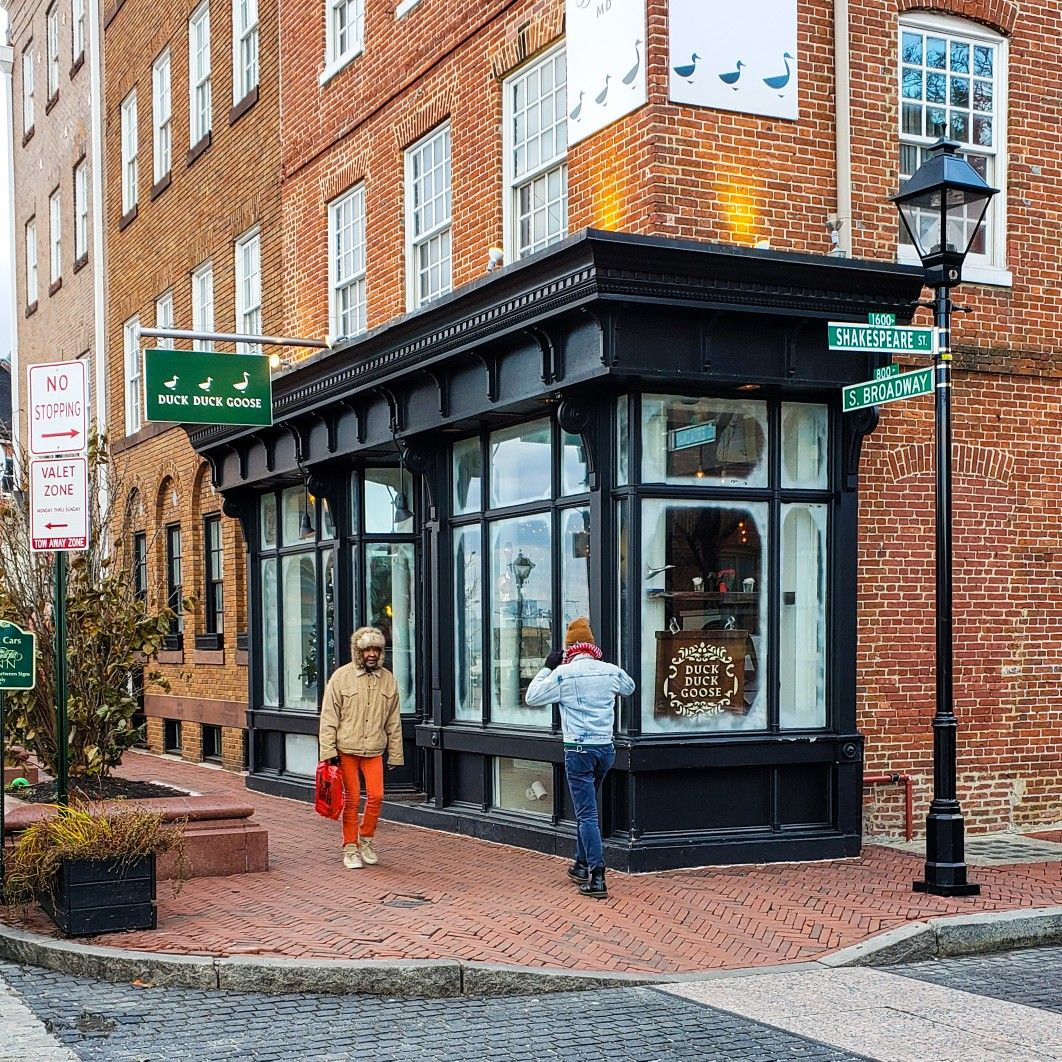 Duck Duck Goose On S Broadway In Fells Point Baltimore Md Our Storefrontoftheday Downtown Walkability Main Street