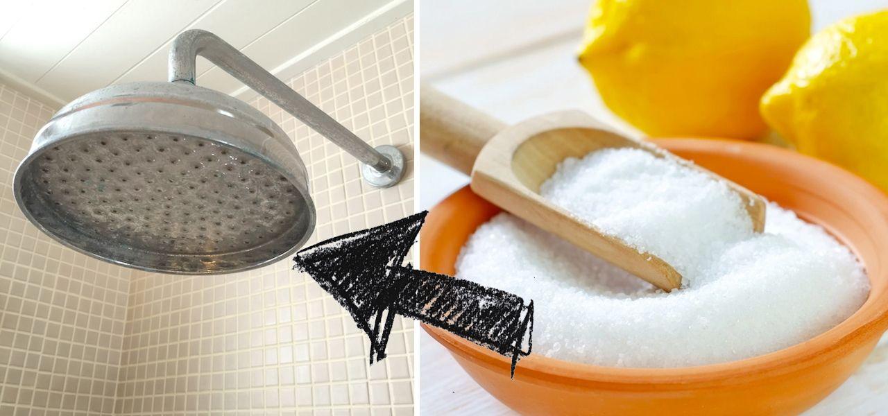 Duschkopf Entkalken Die Besten Hausmittel Und Tipps Duschkopf Hausmittel Dusche