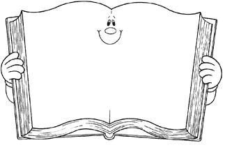 Dibujo para colorear de un libro   dibujos   Libros, Dibujo libro