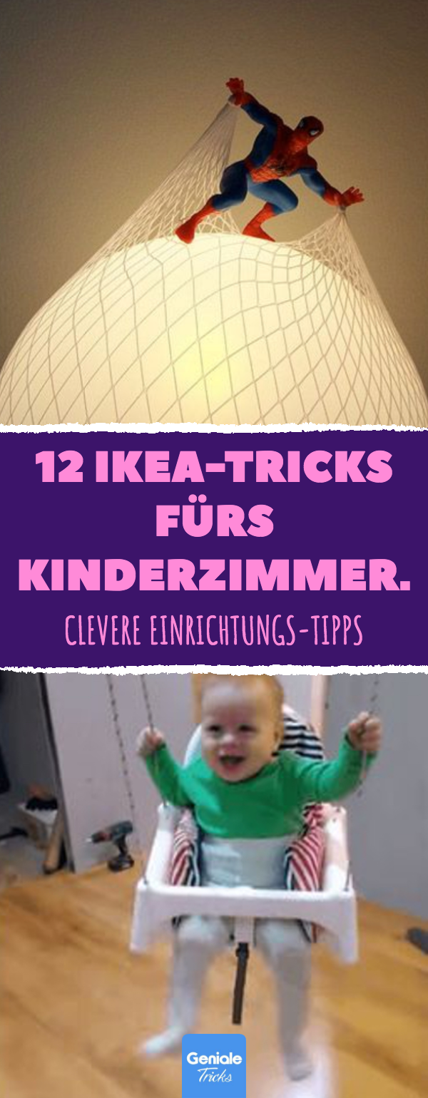 12 IKEA-Tricks fürs Kinderzimmer.