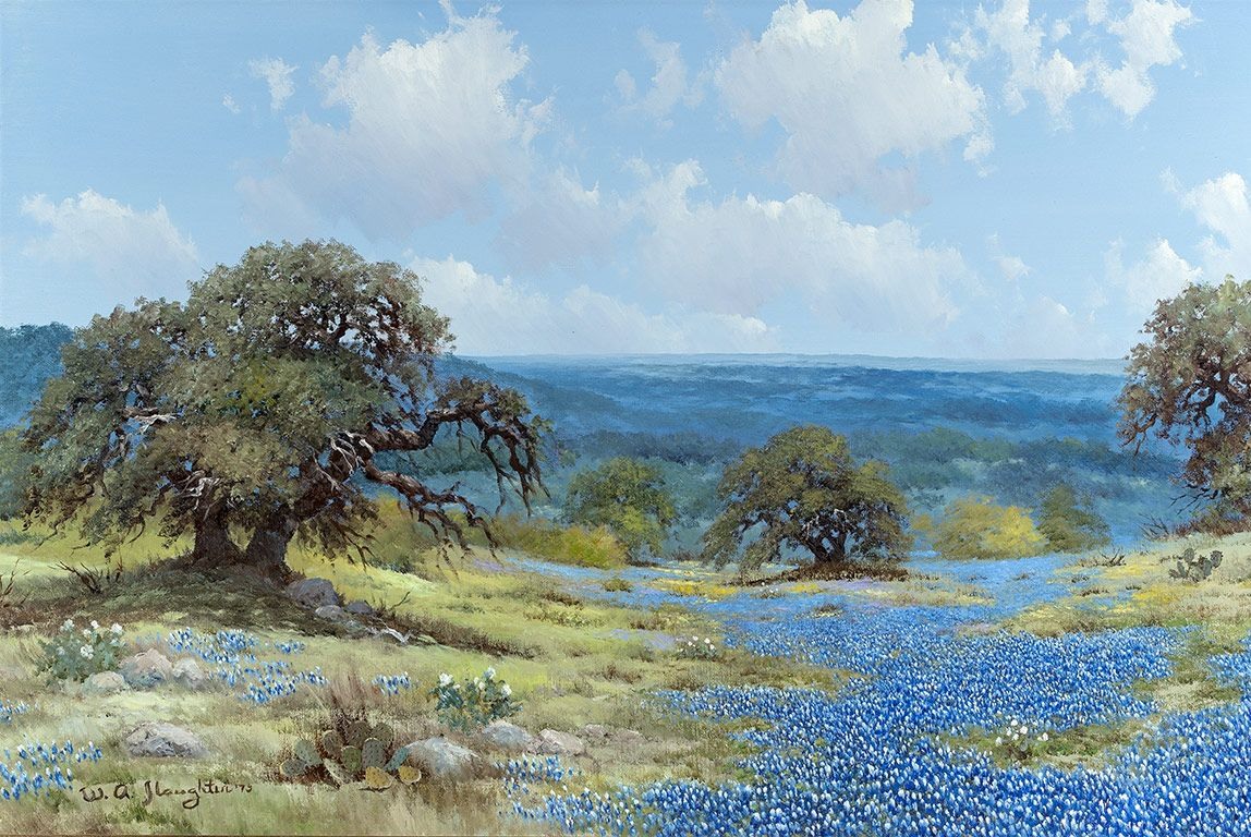 c2b6d9dbc William A. Slaughter : Original Landscape Paintings for Sale : Great  American West Gallery, Grapevine Texas