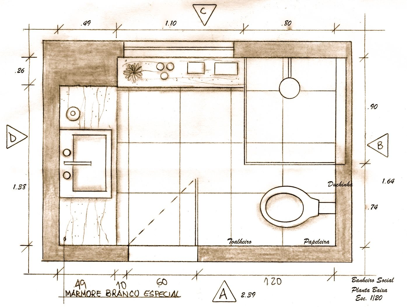 How Design Bathroom Layout