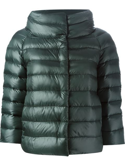 FITTED BELTED HEAVYOWN PUFFER Gewatteerde jas navy