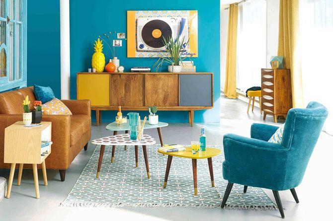 Credenza Moderna Maison Du Monde : Lucette retro nesting tables at maisons du monde indoor living
