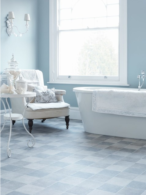 A Gorgeous Duck Egg Blue Or Royal Baby Blue Traditional Bathroom By East Anglia Carpet Flooring Carp With Images Bathroom Vinyl Vinyl Flooring Bathroom Vinyl Flooring