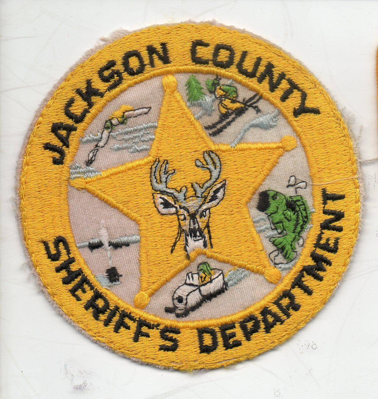 Halloween 2020 Sheriff Department Vintage Jackson County Sheriff's Department Wisconsin | Etsy in