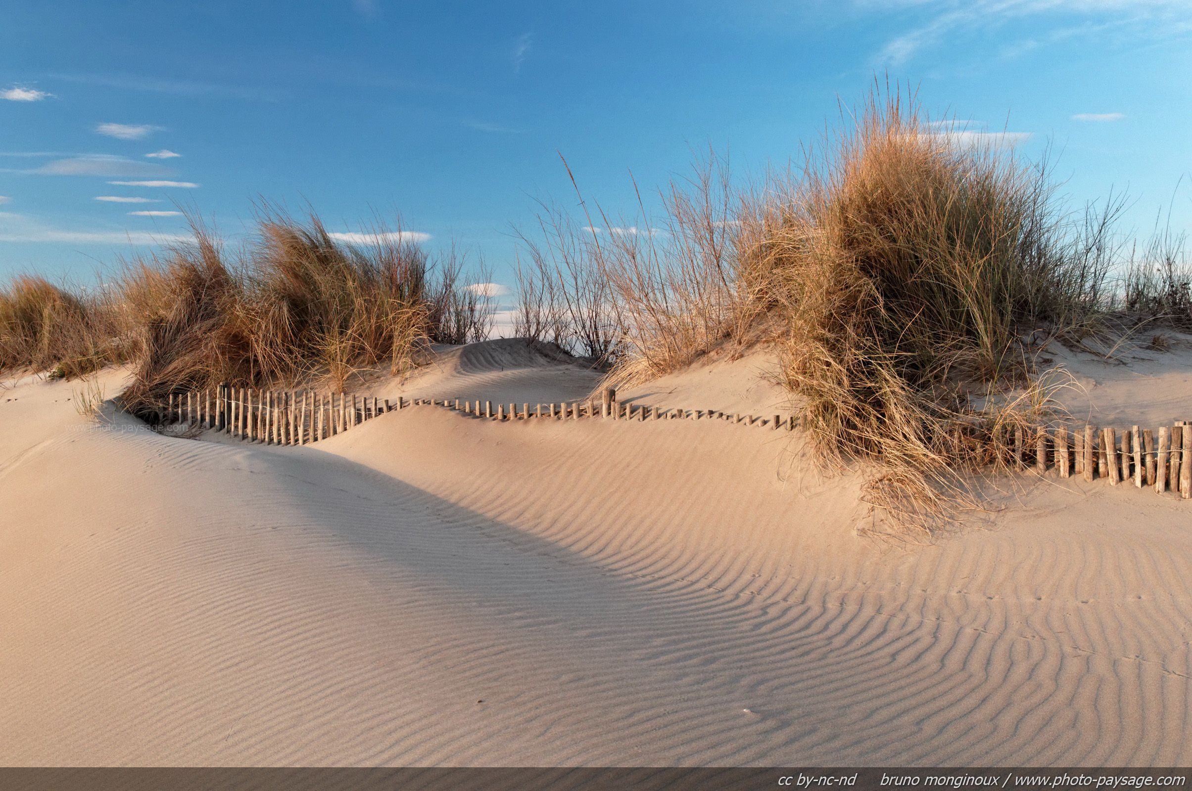 Des dunes sur la plage de l 2409 1600 for Lac salonique grau du roi