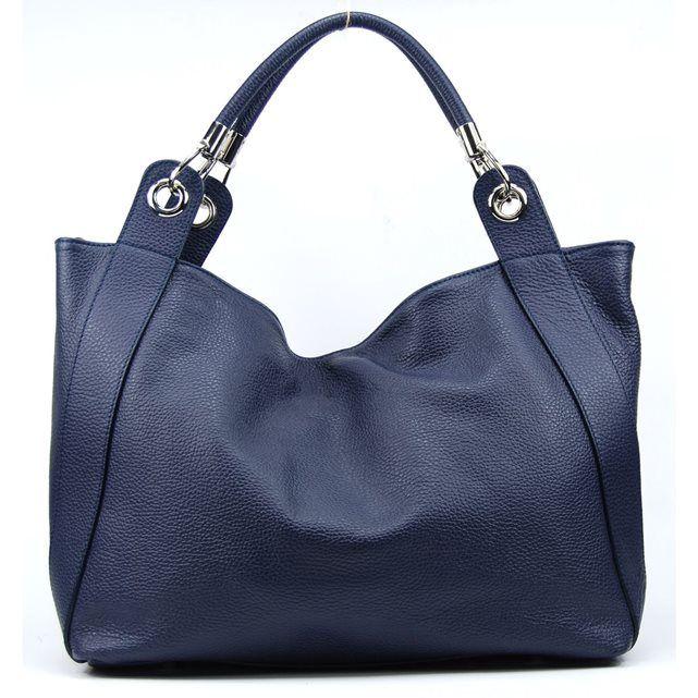 la redoute 75 sac main en cuir italien sac port main paule et bandouli re un vrai sac. Black Bedroom Furniture Sets. Home Design Ideas