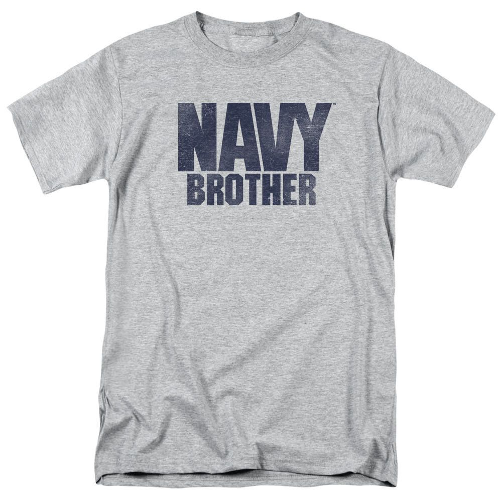 U.S. Navy Brother Athletic Heather T-Shirt