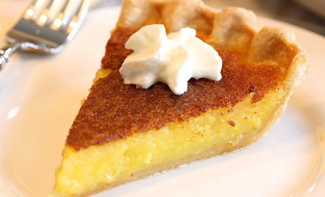 No. 10 - Lemon Chess Pie - Saving Room for Dessert