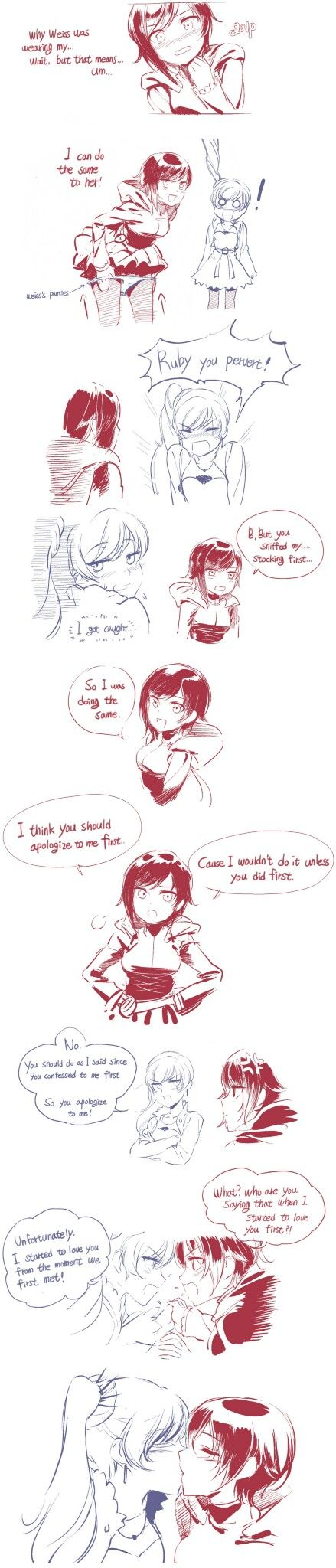 Pin By Mark Shax On Rwby Rwby Rwby Red Rwby Anime