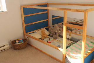 Letti Bassi Per Bambini Ikea.Love This Montessori Toddler Bed Camerette Cameretta Montessori
