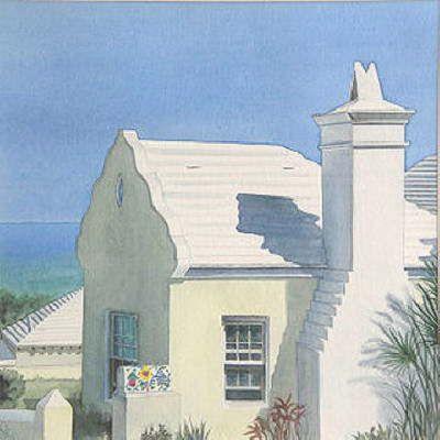 Bermuda In Sketches Courtyard 2019 CottagesCottage 8PyvNwmn0O