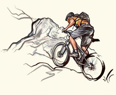 Pin De Kar Vat En Varios Tatuaje De Ciclismo Ilustracion De