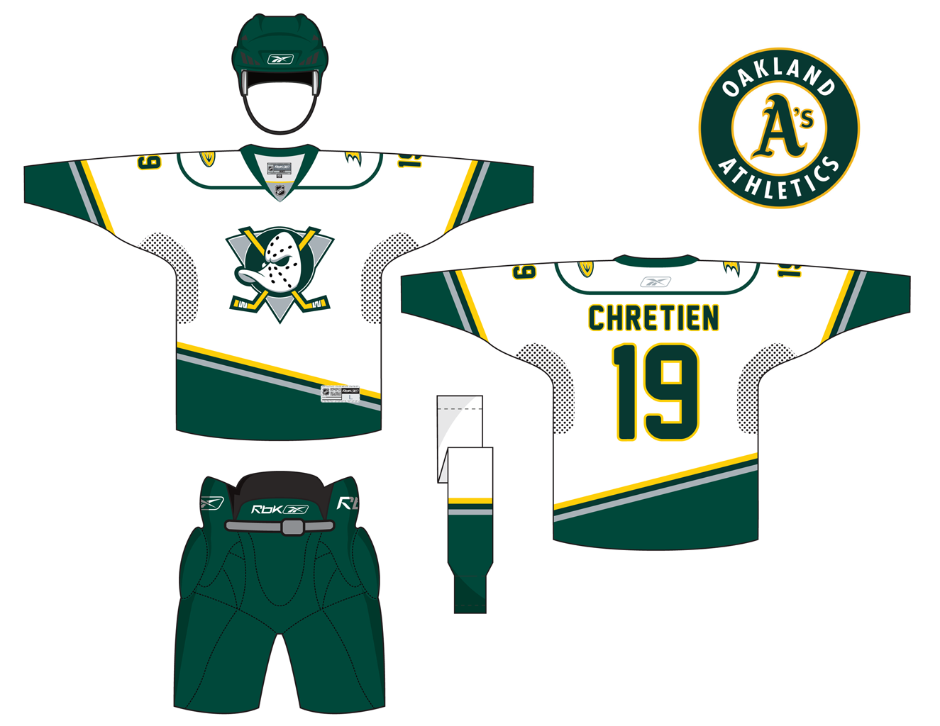 pretty nice 9c4a6 bb469 Today's #NHLjerseymashup is the away version of my Anaheim ...