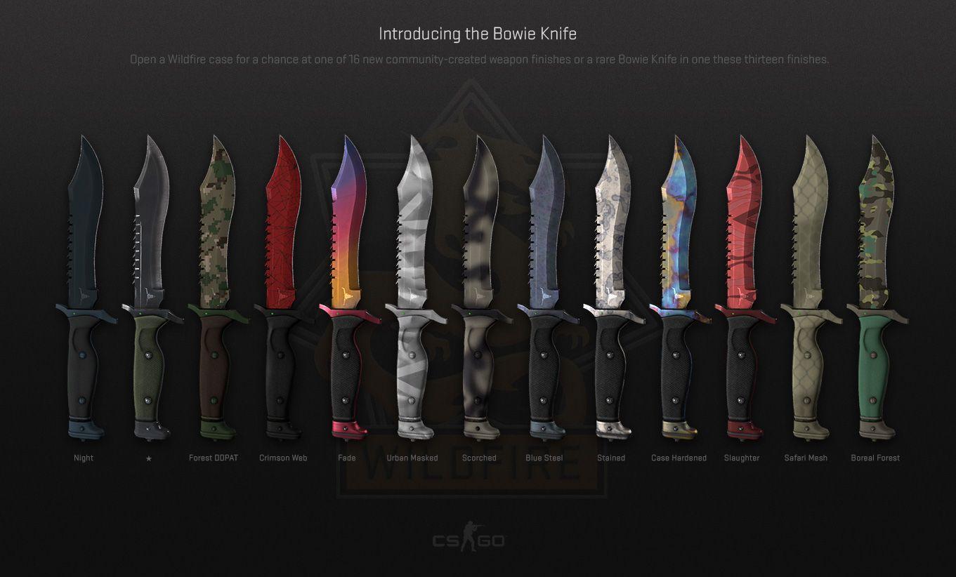 cs go betting knife sets