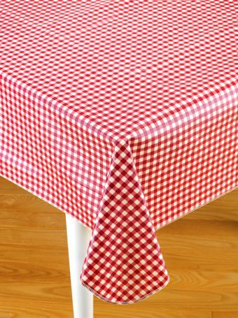 Our Round Oilcloth Tablecloth Is The Best In Heavy Duty Table Linens As It  Is Easy