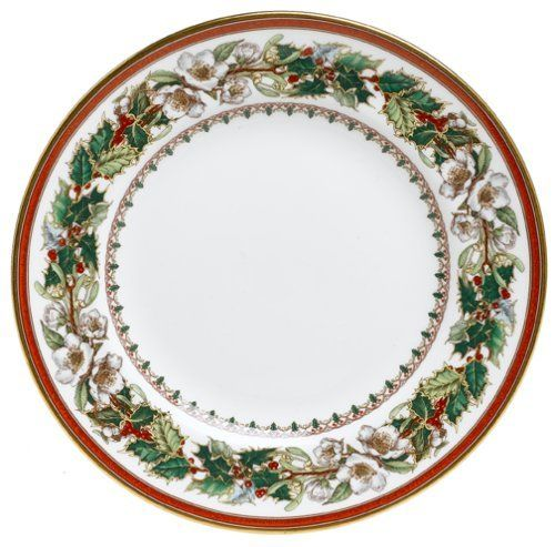 Spode Christmas Rose 6-Inch Bread and Butter Plate by Royal