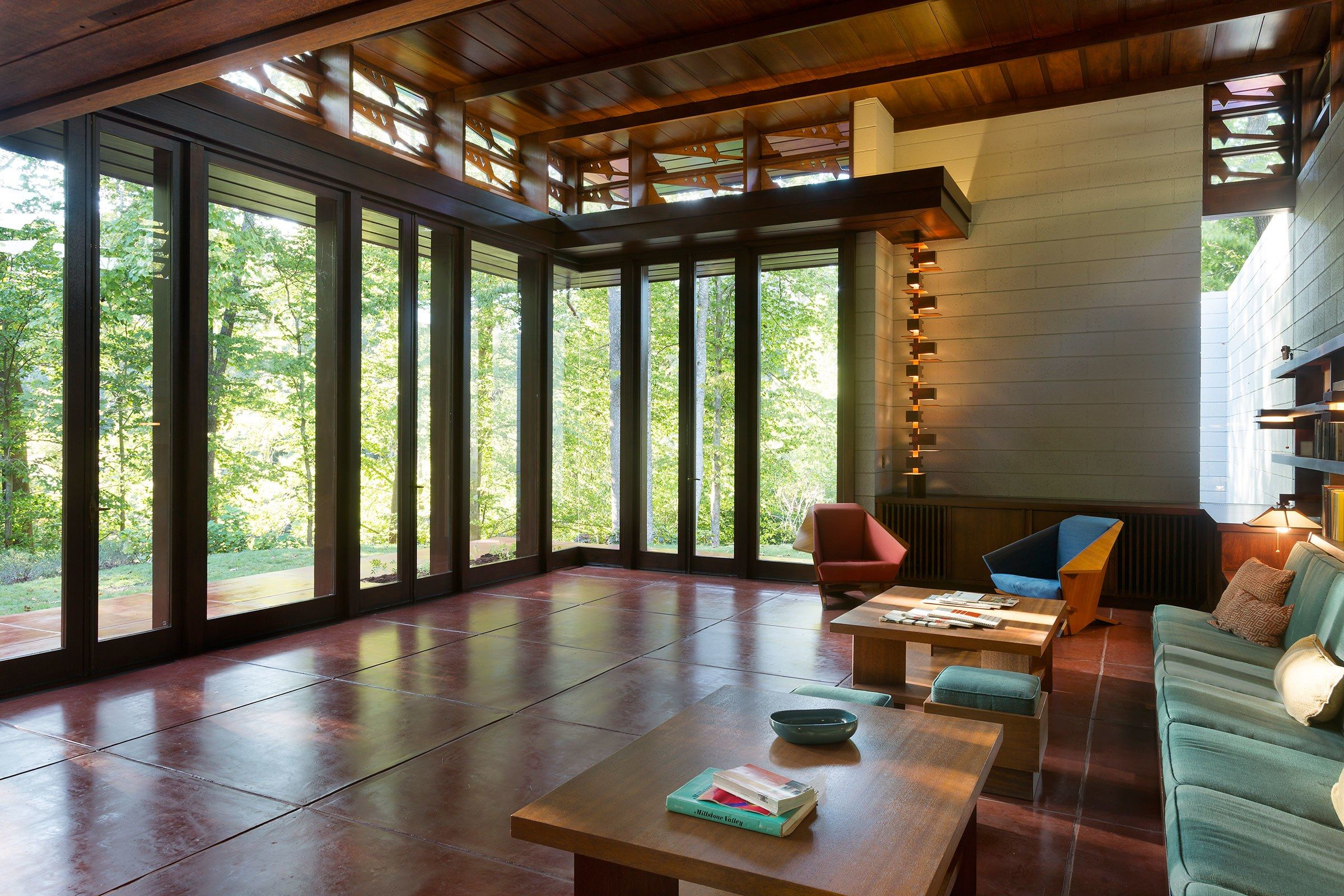 How frank lloyd wrights bachman wilson house ended up in arkansas