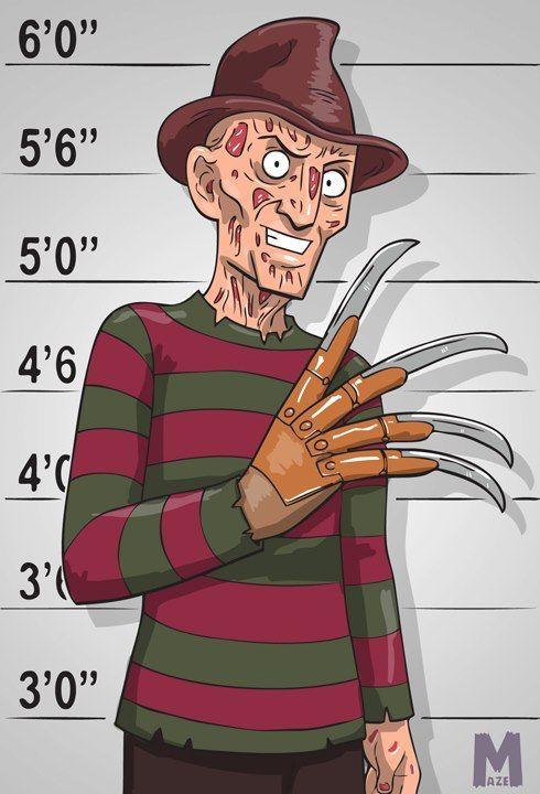 Usual Suspect - Freddy by b-maze on DeviantArt