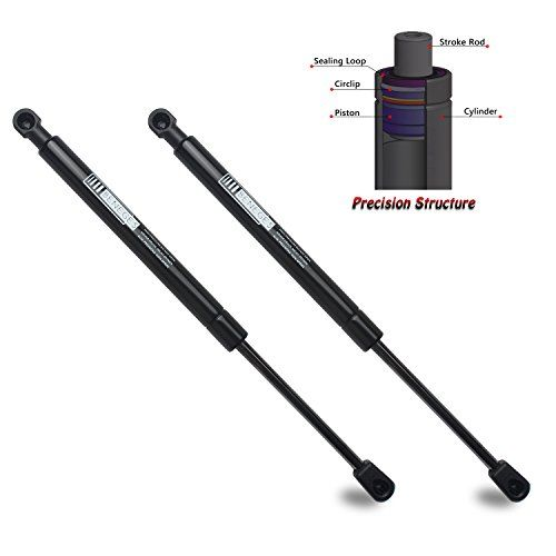 2pc Rear Liftgate Hatch Tailgate Lift Supports Struts 2006-2010 Toyota Sienna