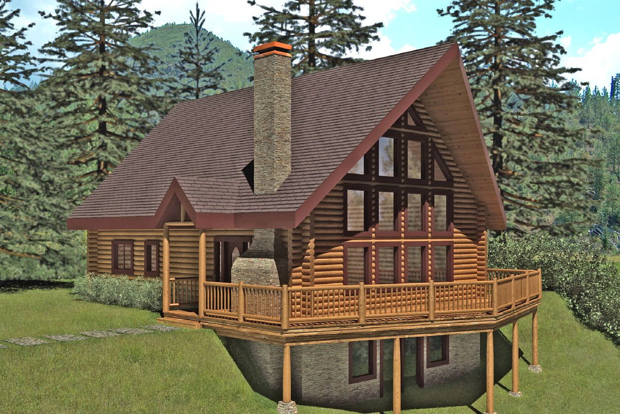 Images About Log Homes On Pinterest Rivers And Cabin