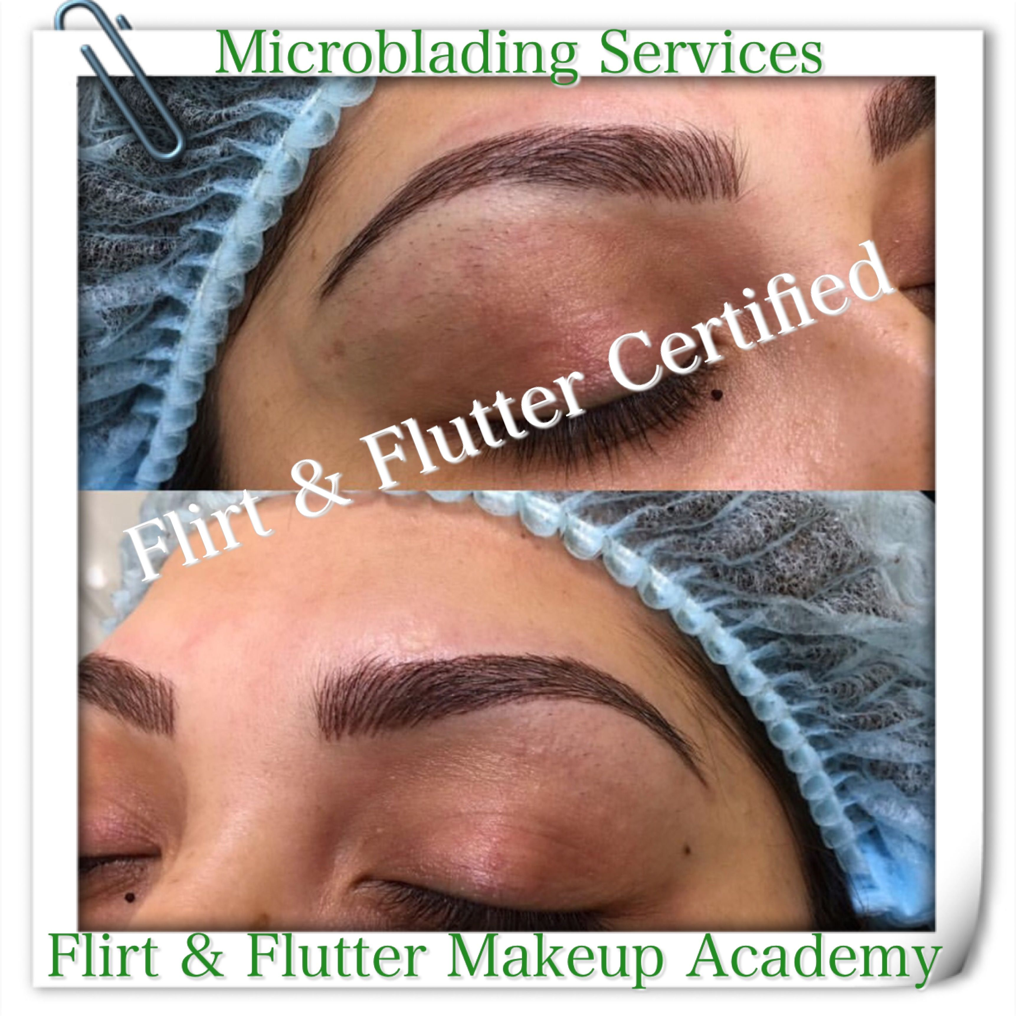Pin by Flirt & Flutter Beauty Boutique on MICROBLADING