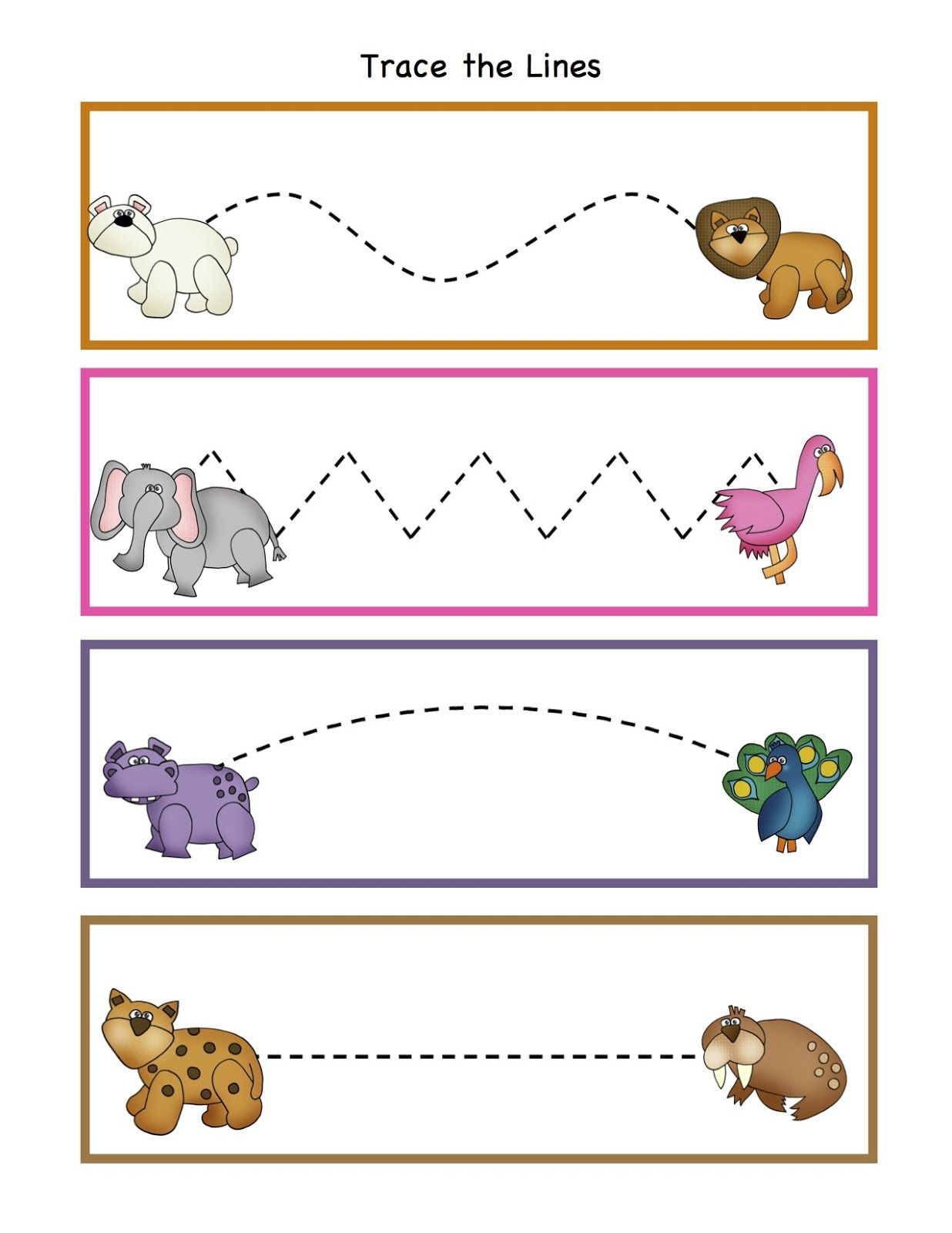 Polar Bear What Do You Hear Printable Preschool