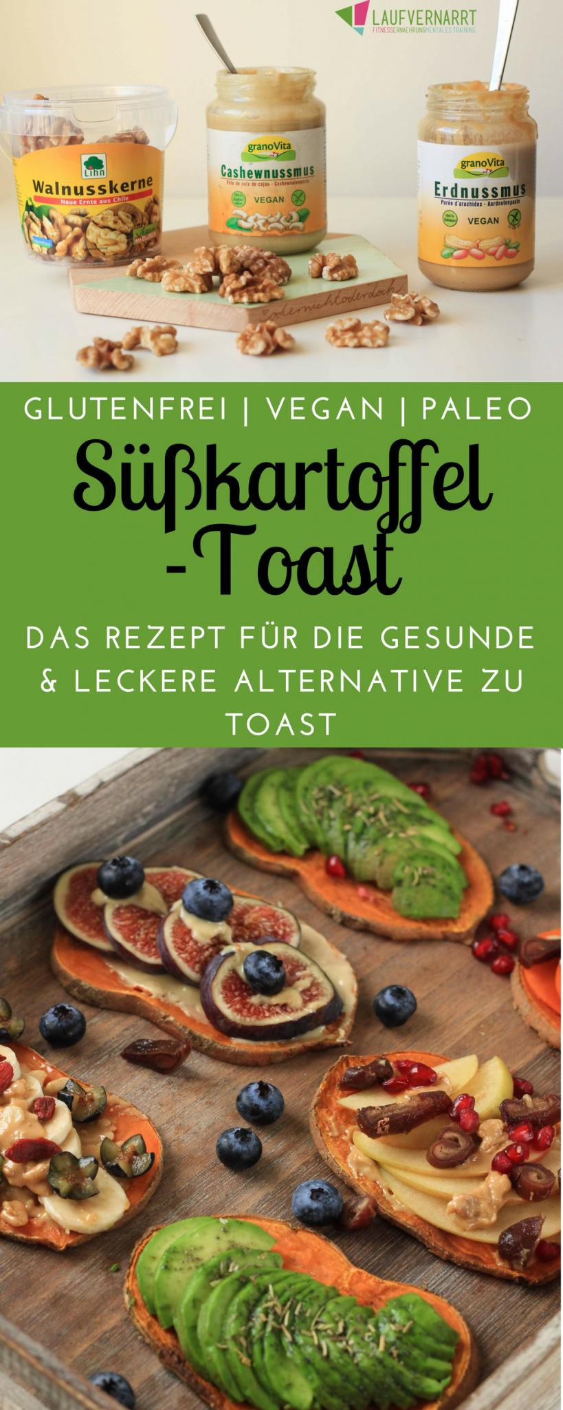 Toast di patate dolci – l'alternativa salutare e senza glutine al toast – che cola