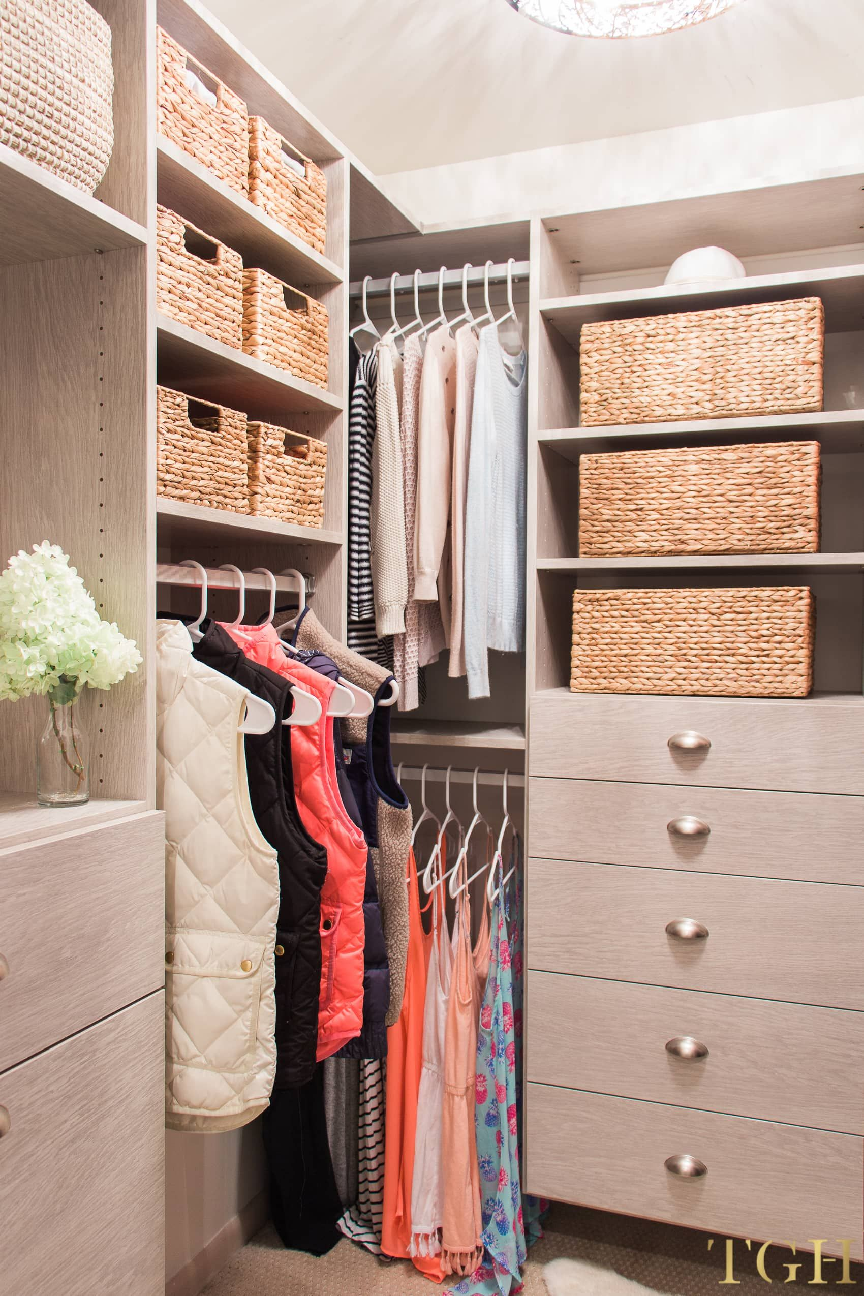 California Closets Review With Pricing Including Before And After Photos Master Walk In Drawers Shoe Storage