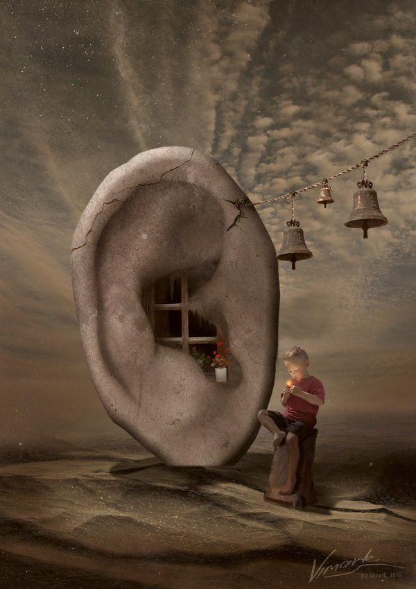 In SilenceIn Silence - 35 Creative Surreal Photo Manipulations  <3 <3