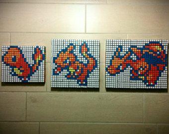 Salamèche Reptincel Charizard Rubik Cube Sprite Set 186